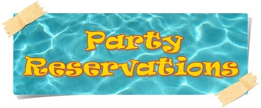 party reservation banner