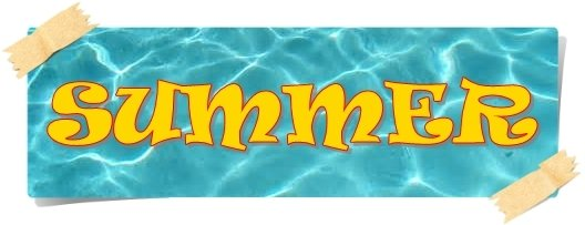 pool summer banner