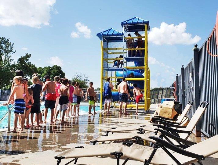 Seymour City Pool New Slide Seymour TX